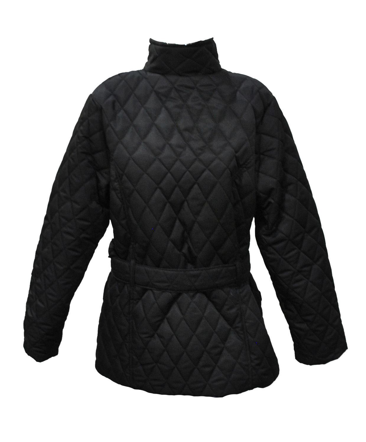 Plus Size Black Quilted Jacket : black quilted ladies jacket - Adamdwight.com